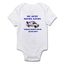 Ambulance Saves Lives-Aunt Infant Bodysuit