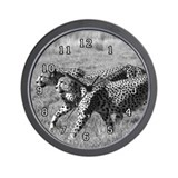 Cheetah Brothers Wall Clock