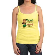 Combat Girl Thyroid Cancer Jr.Spaghetti Strap
