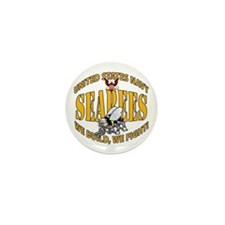 USN Seabees Bee Eagle 2 Mini Button (10 pack)