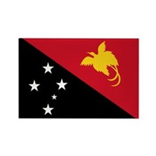 Papua New Guinea Flag Rectangle Magnet