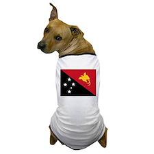 Papua New Guinea Flag Dog T-Shirt
