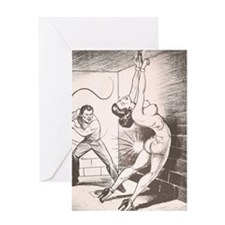 Nights of Horror by Joe Shuster Greeting Cards