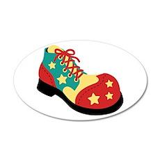 Circus Clown Shoe Wall Decal