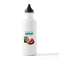 who you callin BOZO? Water Bottle