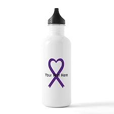 Personalized Purple Ri Water Bottle