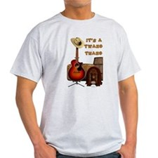Country Acoustic Guitar T-Shirt