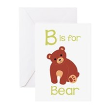 B Is For Bear Greeting Cards