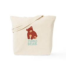 Cuddle Bear Tote Bag