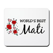 WB Mom [Croatian] Mousepad