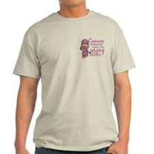 Combat Girl Breast Cancer T-Shirt