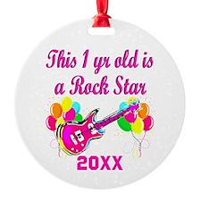 1 YR OLD ROCKER Ornament