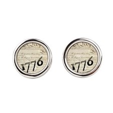 we the people  1776 design Cufflinks