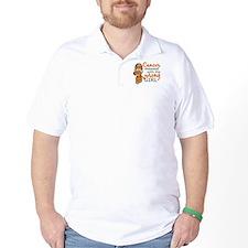 Combat Girl Kidney Cancer T-Shirt