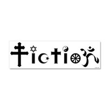 Cute Atheist Car Magnet 10 x 3