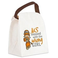 Combat Girl MS Canvas Lunch Bag