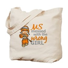 Combat Girl MS Tote Bag