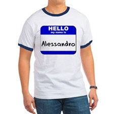 hello my name is alessandro T