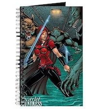 Scarlet Huntress vs Werewolves Journal