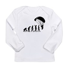 Evolution Skydiving Long Sleeve Infant T-Shirt
