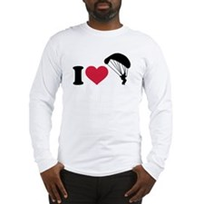 I love Sky diving Long Sleeve T-Shirt