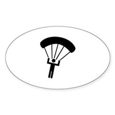 Skydiving icon Decal