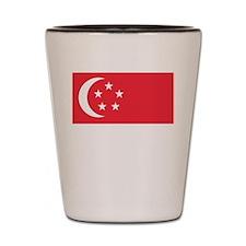 Flag of Singapore Shot Glass