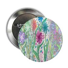 Wildflowers Button