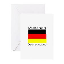 Munchen, Deutschland Greeting Cards (Pk of 10)