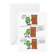 Olive You Cartoon Greeting Cards (Pk Of 20) Greeti