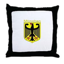 Munchen, Deutschland Throw Pillow