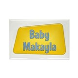 Baby Makayla Rectangle Magnet (10 pack)