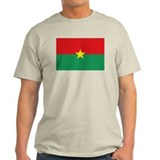 Burkina-Faso flag T-Shirt