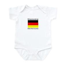 Mannheim, Germany Infant Bodysuit