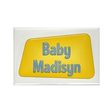 Baby Madisyn Rectangle Magnet