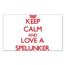 Keep Calm and Love a Spelunker Decal
