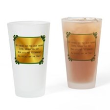 Iristh Toast - Friendship Drinking Glass
