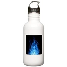 Blue Flames Water Bottle