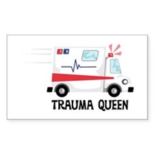 Trauma Queen Stickers