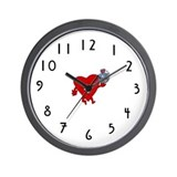 Bite of Premera Wall Clock