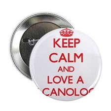 "Keep Calm and Love a Volcanologist 2.25"" Button"