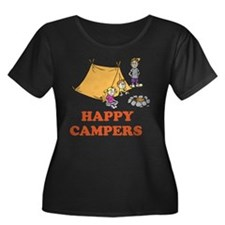 Happy Campers Plus Size T-Shirt