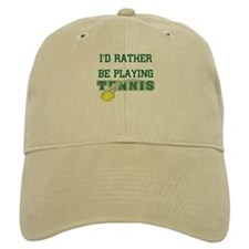 I'd Rather Tennis Cap