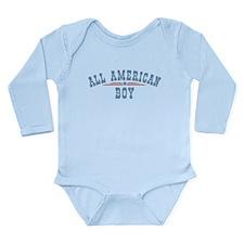 All American Boy Onesie Romper Suit