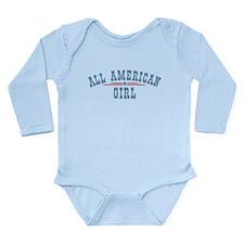 All American Girl Onesie Romper Suit