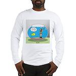 Fishbowl Hard Hat Diver Long Sleeve T-Shirt