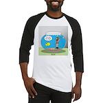 Fishbowl Hard Hat Diver Baseball Jersey