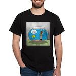 Fishbowl Hard Hat Diver Dark T-Shirt