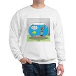 Fishbowl Hard Hat Diver Sweatshirt