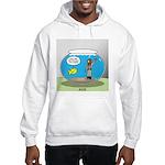 Fishbowl Hard Hat Diver Hooded Sweatshirt